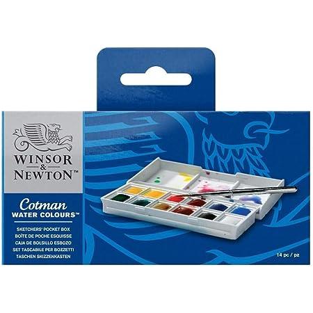COLART 0190814  PROFESSIONAL WATERCOLOR DOT CARD FULL RANGE WINSOR /& NEWTON