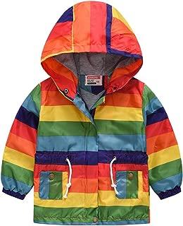 Baby Boys Trench Coats Car Leopard Print Hooded Windbreaker Windproof Outwear