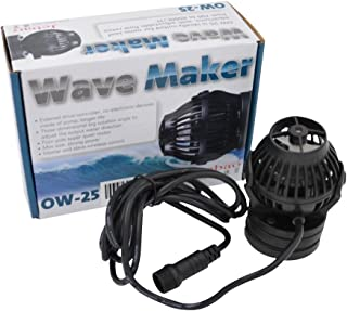 Jebao OW Wave Maker Flow Pump with Controller for Marine Reef Aquarium (OW-25, 184-2245 GPH)