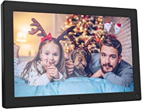 BSIMB 10.1 Inch Digital Photo Frame Digital Picture Frame 1280x800 Built-in 8GB Memory IPS Screen Electronic Photo Frame with Motion Sensor/Auto Rotate/Music&Video Playback/Remote Control M10
