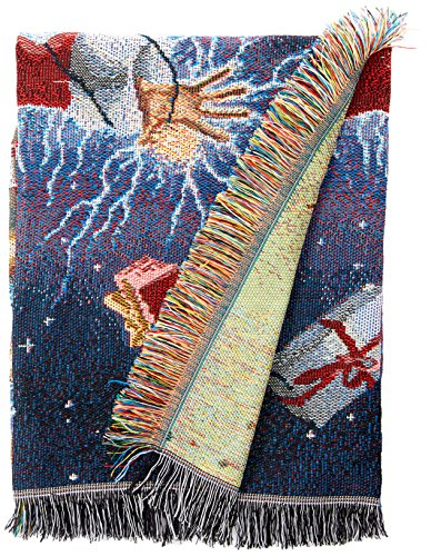 Warner Bros. National Lampoons' Christmas Vacation, Shocking Chevy Woven Tapestry Throw Blanket, 48' x 60'