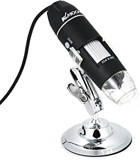 Andoer 1600X Magnification USB Digital Microscope with OTG Function Endoscope 8-LED Light Magnifying Glass Magnifier with ...