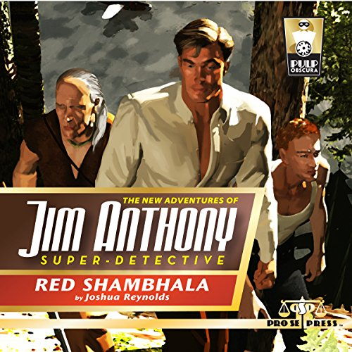 The New Adventures of Jim Anthony, Super-Detective, Volume Two: Red Shambhala audiobook cover art