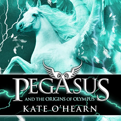 Pegasus and the Origins of Olympus audiobook cover art