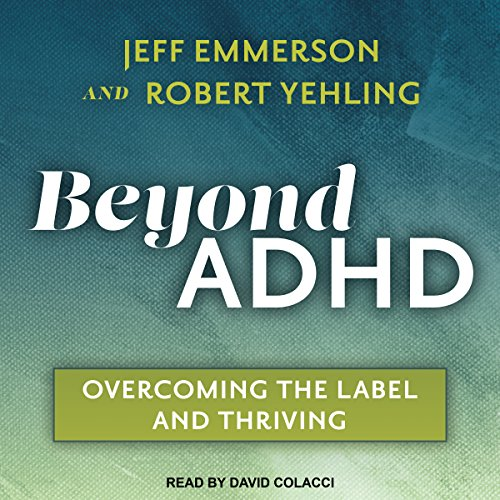 Beyond ADHD audiobook cover art