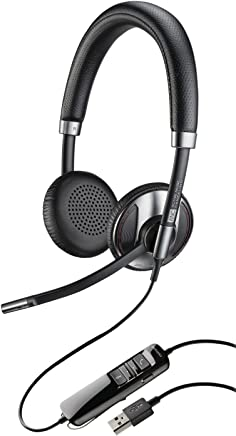 Plantronics 202580-01 Wired Headset, Silver/Black