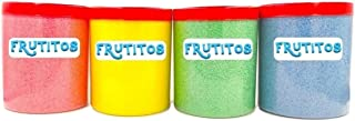 Professional Instant Candy Floss Sugar Cotton - Pack 4 saveurs - (4 x 500 gr) Spécial pour les machines à coton - Barbe à ...