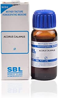 SBL Homeopathy Acorus Calamus Mother Tincture Q (30 ML) by Qualityexport