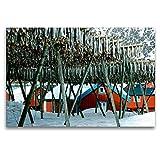 Premium Textil-Leinwand 120 x 80 cm Quer-Format