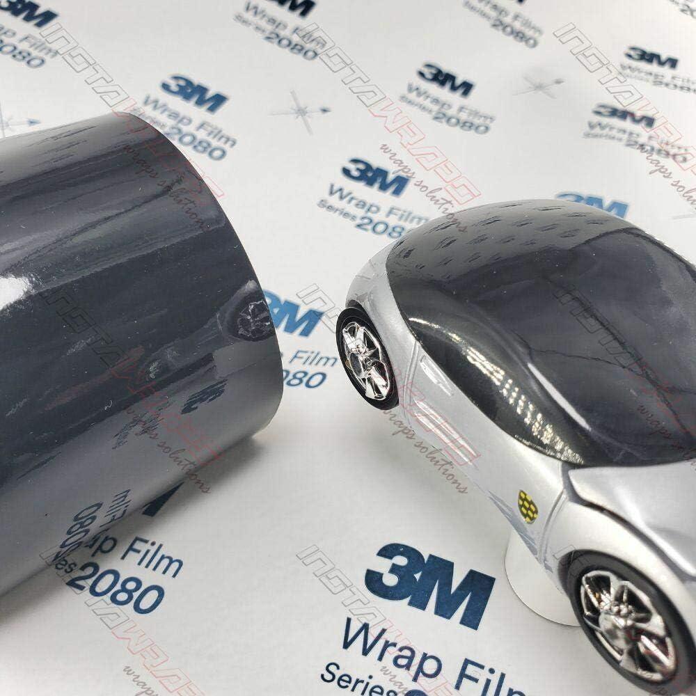 3M 2080 G12 Gloss Black 5ft x 50ft Car Wrap