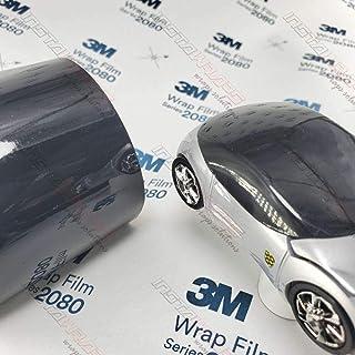 3M 1080 Gloss Black | G12 | Vinyl CAR WRAP Film (5ft x 2ft (10 Sq/ft)) w/Free Style It Pro Wrapping Glove