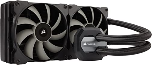 CORSAIR Hydro Series H115i AIO Liquid CPU Cooler, 280mm Radiator, Dual 140mm SP Series PWM Fans, Advanced RGB Lighting and Fan Software Control (Renewed)