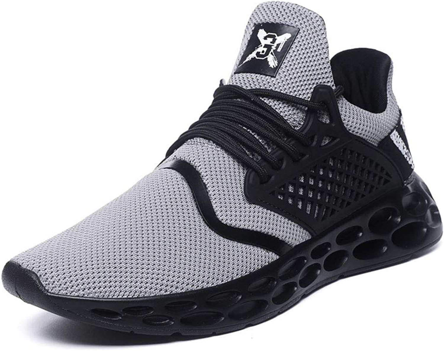Spring And Summer Men Tide shoes Openwork shoes Damping Motion Casual shoes Teens Run Basketball shoes Large Size Fashion Student Dancing shoes 39-44