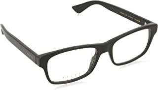 Gucci - GG0006O Plastic Rectangle Eyeglasses 2 Sizes