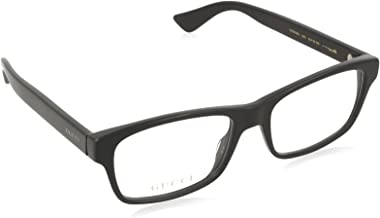 Gucci - GG0006O Plastic Rectangle Eyeglasses 2 Sizes