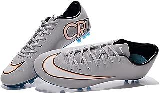 Lissay Shoes Mens Football Mercurial Vapor Superfly IIII vapor X AG Grey Soccer Boots