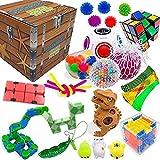 Kit de herramientas para aliviar el estrés y antiansiedad para niños y adultos, sensoriales Fidget Toys Set Bundle Sensory Toys Set Sensory Therapy Juguetes para TDAH, Autismo, estrés y ansiedad
