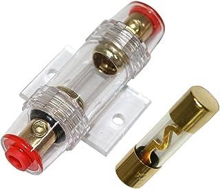 Aerzetix   60A AGU Sicherung + Sicherungshalter für Auto Auto klingen Sub Amp