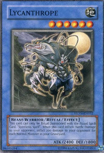 Yu-Gi-Oh! - Lycanthrope (STON-EN032) - Strike of Neos - Unlimited Edition - Common