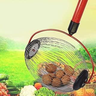 Fruit Collector Rapide S/électeur De Fruits Cueillette /À Billes Verger Outil En Alliage Daluminium Noyer Cueillette De Marronnier Jardin Rouleau Moissonneuse Collecteur De Fruits Ramasse Noix