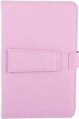 ASHATA Universal Wireless Bluetooth Tastatur Flip Case mit Standfu f r iOS Android-Handys rosa Schätzpreis : 13,34 €