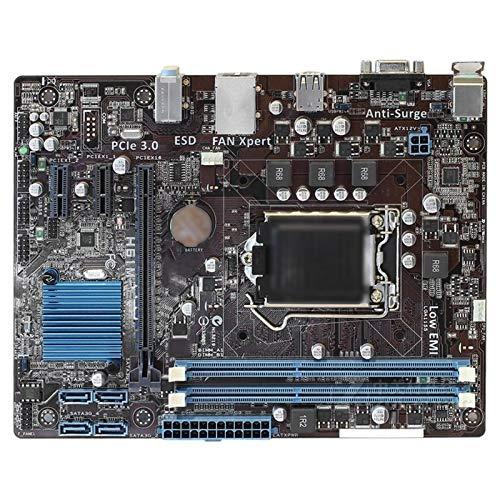 ALBBMY Ajuste para ASUS H61M-E original placa madre DDR3 LGA 1155 USB2.0 para I3 I5 I7 CPU 16 GB H61 UTILIZADO Desktop Motherboard Gaming