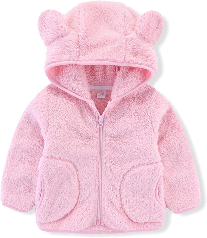 Toddler Hooded Max 89% OFF Jacket Girl Max 40% OFF Boy Outwea Top Sweatshirt Winter Warm