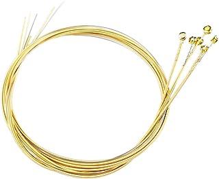 Acoustic Guitar Strings Bulk Light Tension 6 Guitar Strings Replacement Steel Strings Light 12-53 Offers a Warm, Bright an...