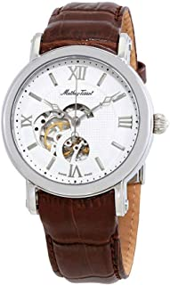 Skeleton Automatic Silver Dial Mens Watch H7050AI