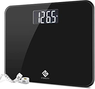 Etekcity High Precision Digital Body Weight Bathroom Scale with Ultra Wide Platform and..
