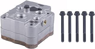 Robur Bremse Air Brake Compressor Cylinder Head W/Plate Kit for Detroit Diesel s60 Type 5018652 5018654 OEM 23536774