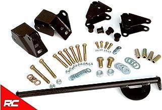 Rough Country Front Shackle Reversal Kit compatible w/ 1976-1986 Jeep CJ7 CJ5 CJ8 Scrambler 5060