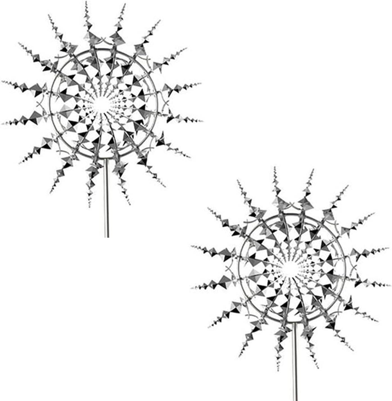 ZDHK Ranking TOP13 Unique and Magical Metal Windmill Sculpture 2021 autumn winter new Ki Garden