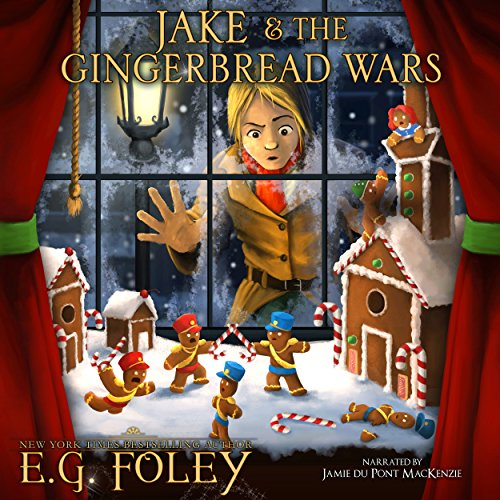 Jake & The Gingerbread Wars audiobook cover art
