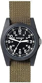 Military Watch Bundle: Bertucci A-3P Sportsman Vintage Watch & Cap