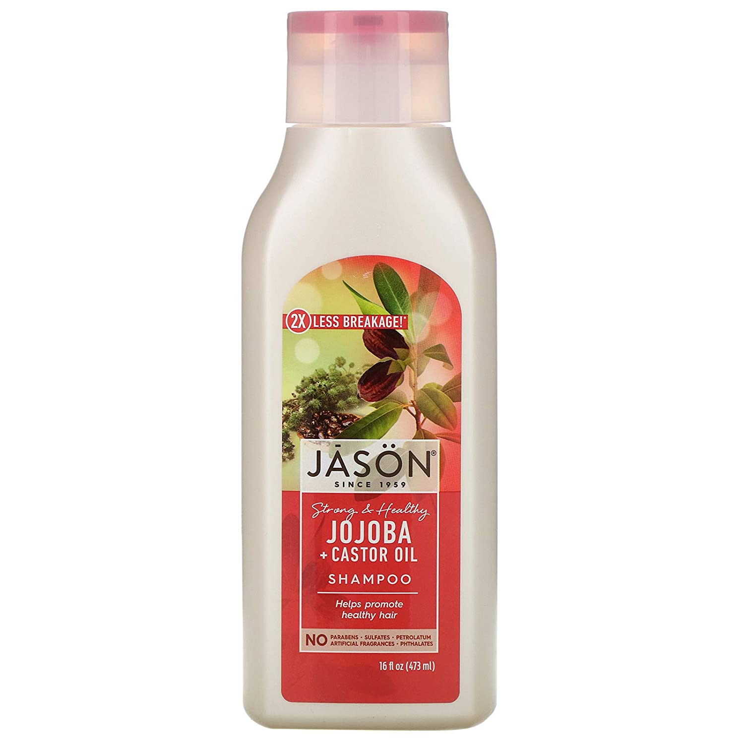 JASON Long 70% OFF Outlet Strong Jojoba Shampoo for All stores are sold O Hair Healthy Growth 16