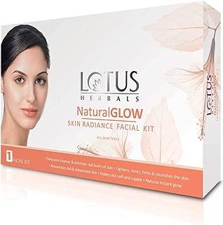 Lotus Herbals Naturalglow Skin Radiance Facial Kit - 1uses 510g