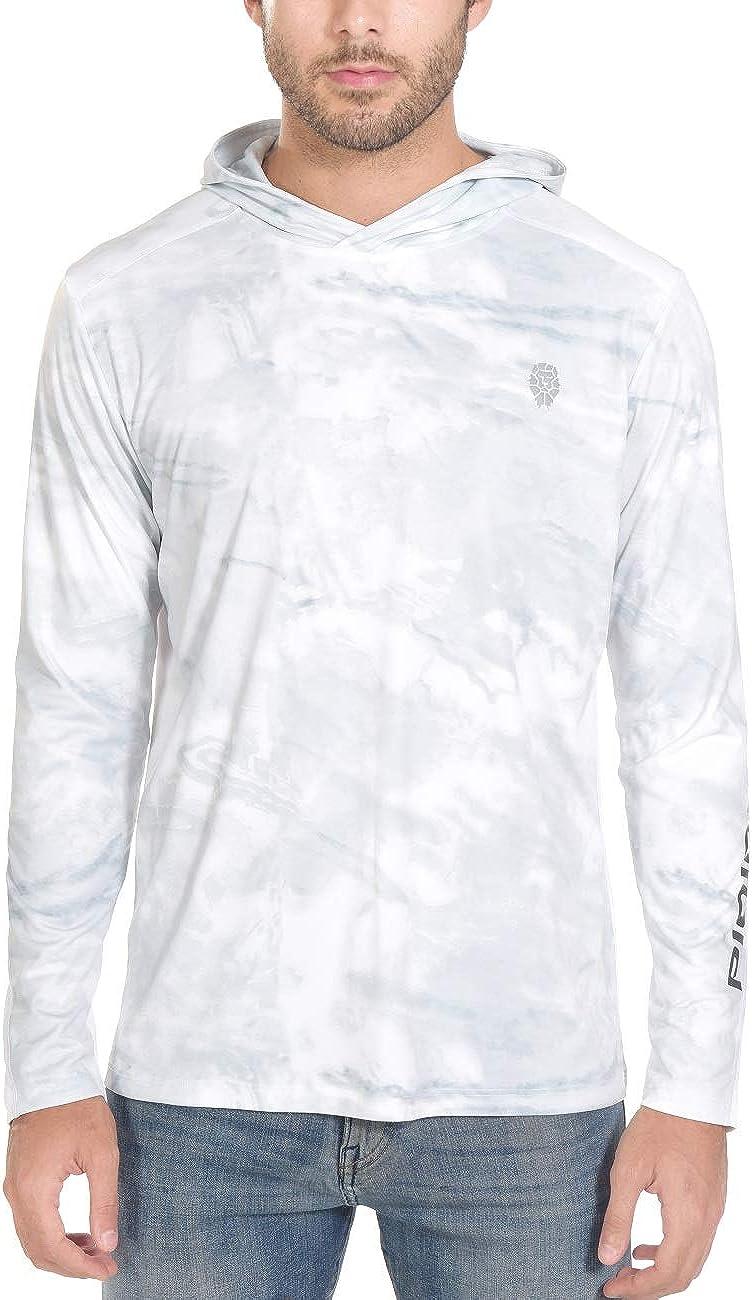 Fishing Shirts for Men Long Sleeve - 50+ T SPF UV depot Sale item Sun Protection