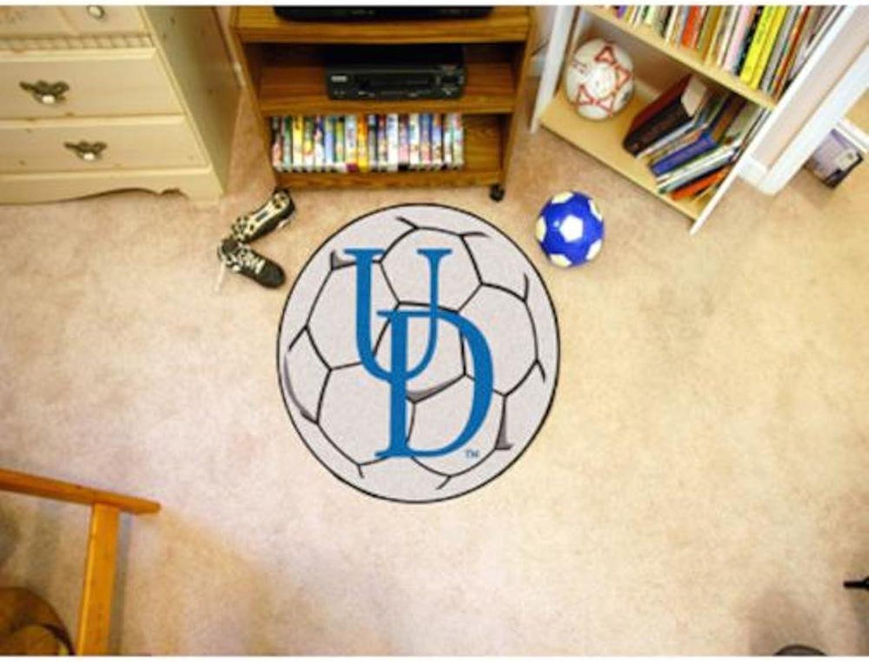 University of Delaware Soccer Ball Rug
