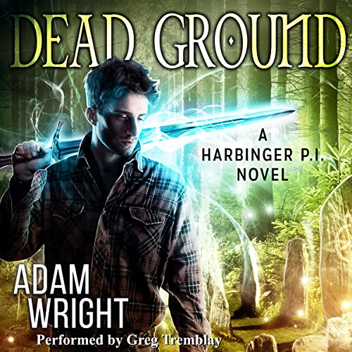 Dead Ground audiobook cover art