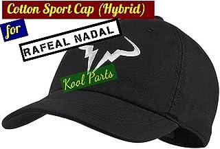 Kool Parts: Rafael Nadal Cotton Sport Caps Hat (Black Colour)
