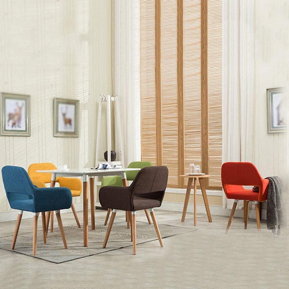 Dining chair ALY Chaise de Salle à Manger en Tissu Moderne avec accoudoirs Chaise de Bureau Design Ergonomique pour Le Restaurant de l'hôtel de conférence Coffee