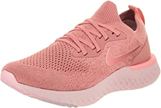 Nike Women's Epic React Flyknit Ankle-High Fabric Running Shoe