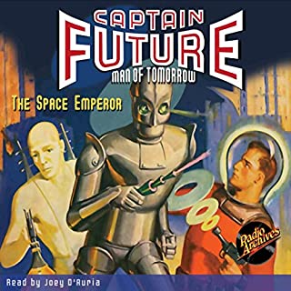 Captain Future: The Space Emperor cover art