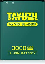 LG V10 Battery, TAYUZH 3000mAh Replacement BL-45B1F Li-ion Battery for LG V10 Stylo 2, H900 AT&T, VS990 Verizon, H901T-Mobile, LS992 Sprint, H960A, H961N | V10 Spare Battery [24 Month Warranty]