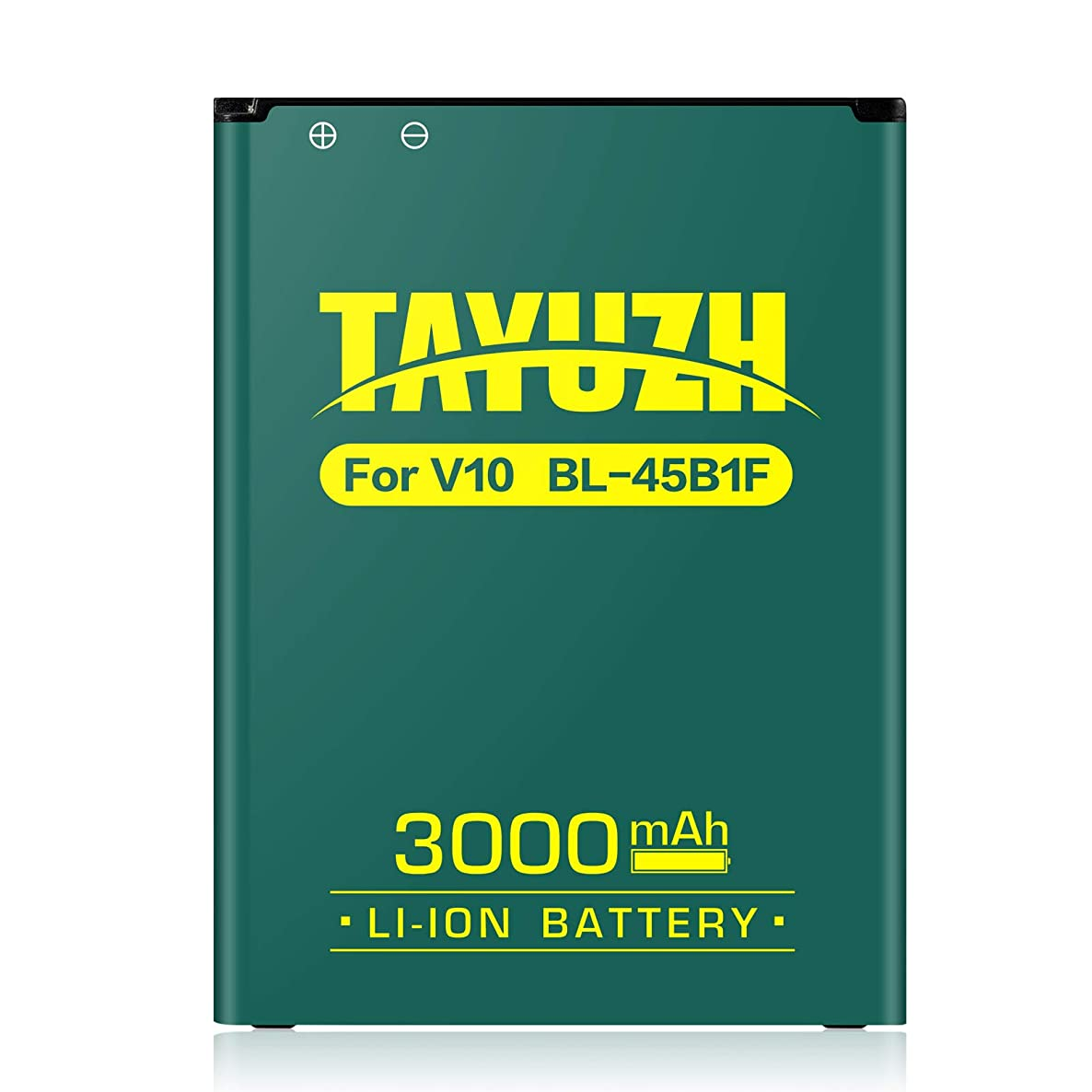 LG V10 Battery, TAYUZH 3000mAh Replacement BL-45B1F Li-ion Battery for LG V10 Stylo 2, H900 AT&T, VS990 Verizon, H901T-Mobile, LS992 Sprint, H960A, H961N   V10 Spare Battery [24 Month Warranty]