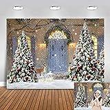 Avezano Fondo para fotografía de Navidad de invierno de 2,1 x 1,5 m