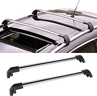 OCPTY Roof Rack Cross Bar Cargo Carrier Fit for 2013-2019 Mitsubishi Outlander Sport Utility Roof Rack Crossbars