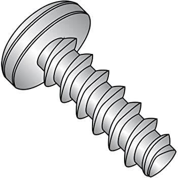 Pack of 50 Passivated Finish 1//2 Length 82 Degree Flat Head Small Parts 0808LPF188 18-8 Stainless Steel Thread Rolling Screw for Plastic Pack of 50 Phillips Drive 1//2 Length #8-16 Thread Size