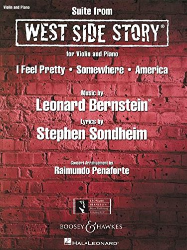 Suite from West Side Story: Violine und Klavier.: For Violin and Piano